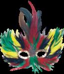 Máscara Carnaval - Diabólica 4 cores