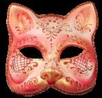 Máscara Carnaval - Gato Red