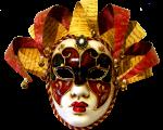 Máscara+Carnaval+-+Arlequim+red+yellow